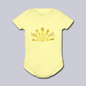National City - Short Sleeve Baby Bodysuit
