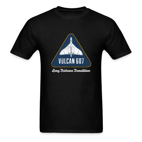 Vulcan 607 - Black - Men's T-Shirt