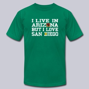 Live Arizona Love San Diego - Men's T-Shirt by American Apparel