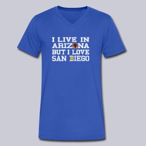 Live Arizona Love San Diego - Men's V-Neck T-Shirt by Canvas