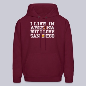 Live Arizona Love San Diego - Men's Hoodie