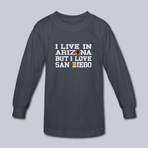 Live Arizona Love San Diego - Kids' Long Sleeve T-Shirt