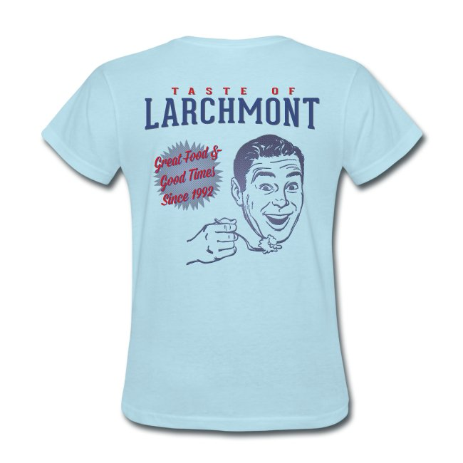 Taste of Larchmont Women's Retro Shirt