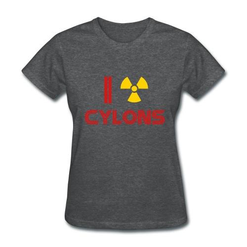 Nuke Cylons Racetrack's Delivery - Women's T-Shirt