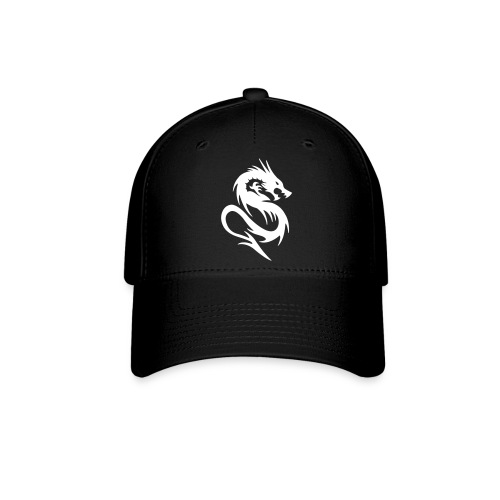 White Dragon Logo Baseball Cap - Baseball Cap