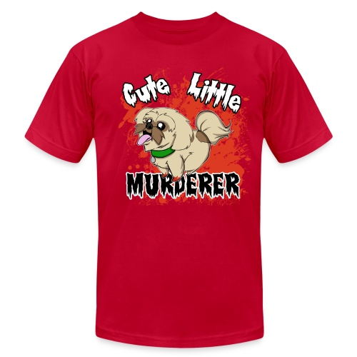 Cute Little Murderer - Men's Fine Jersey T-Shirt