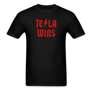 Tesla Wins - Men's T-Shirt
