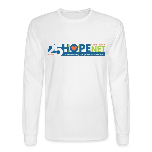 Men's Long Sleeve Anniversary Logo T-Shirt - Men's Long Sleeve T-Shirt