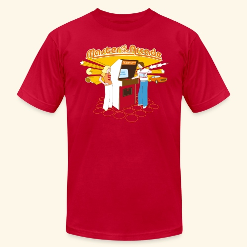 Master of the Arcade - Men's Fine Jersey T-Shirt