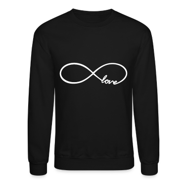 Infinity Love Design Long Sleeve Shirts