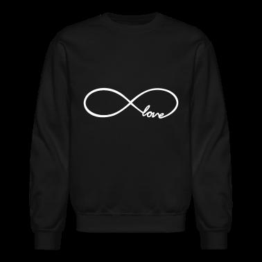 Infinity Love Design Long Sleeve Shirts