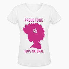 100% Womans Tee-pink graphic