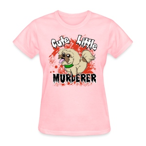 Cute Little Murderer - Women's T-Shirt