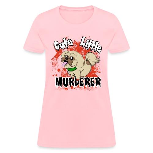 Cute Little Murderer - Women's T-Shirt