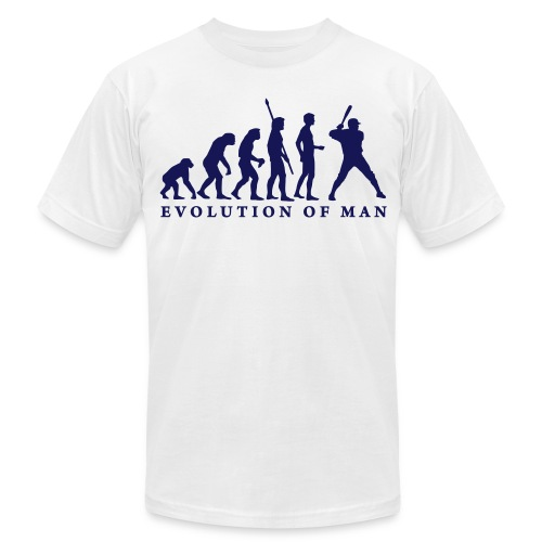 Evolution of Man - Men's Fine Jersey T-Shirt