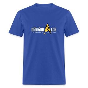 Mission Log Shirt (Old Logo) - Men's T-Shirt