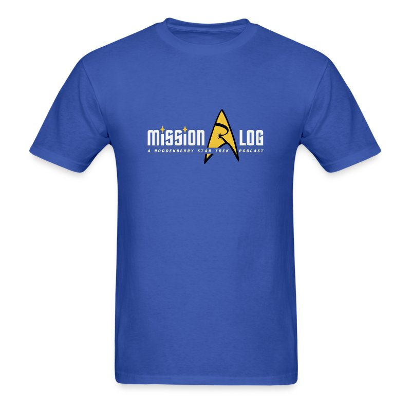 Mission Log Shirt (Old Logo) - Men's T-Shirt