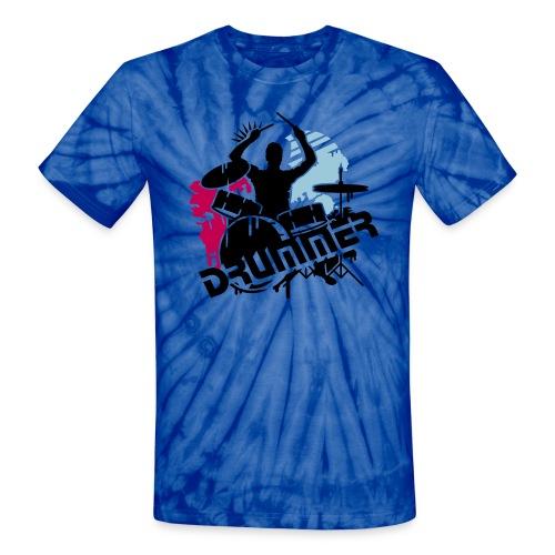 Groovy blue - Unisex Tie Dye T-Shirt