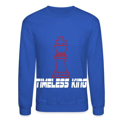 Timeless King Chess Crewneck - Crewneck Sweatshirt