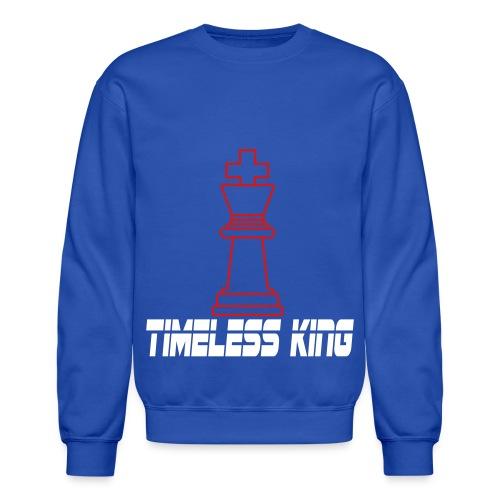 Timeless King Chess Crewneck - Crewneck Sweatshirt