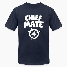 Chief Mate T-Shirt (White/Front)