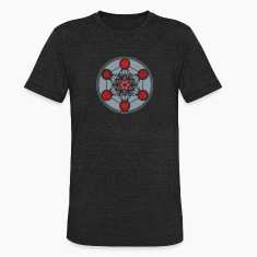 Platonic Solids, Metatrons Cube, Flower of Life T-Shirts