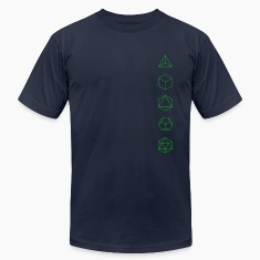 Platonic Solids, Sacred Geometry, Evolution T-Shirts