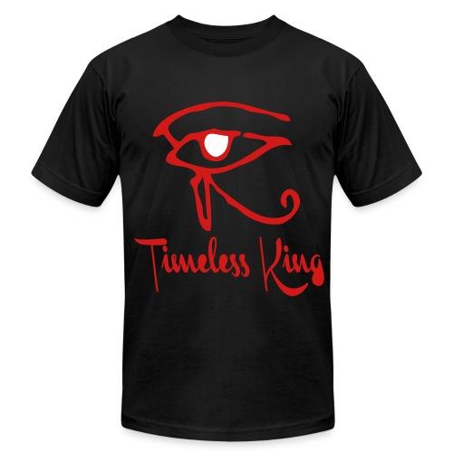 Timeless King Eye of Horus Slim Fit Tee - Men's Fine Jersey T-Shirt