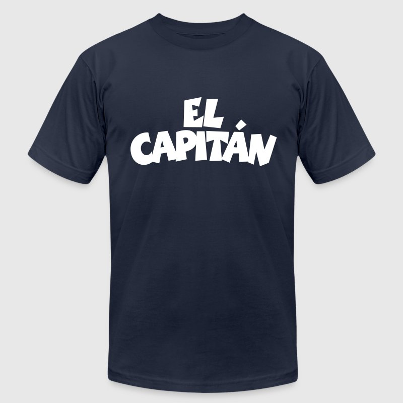 El Capitán T-Shirt (Navy/Front) - Men's T-Shirt by American Apparel