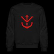Long Sleeve Shirts ~ Crewneck Sweatshirt ~ Saiyan Royal Crest Crewneck