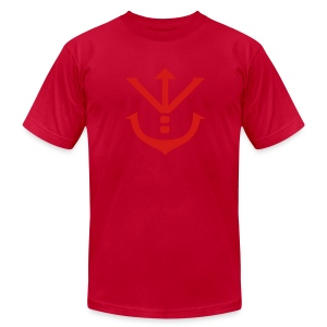 Saiyan Royal Crest Tee - Men's T-Shirt by American Apparel