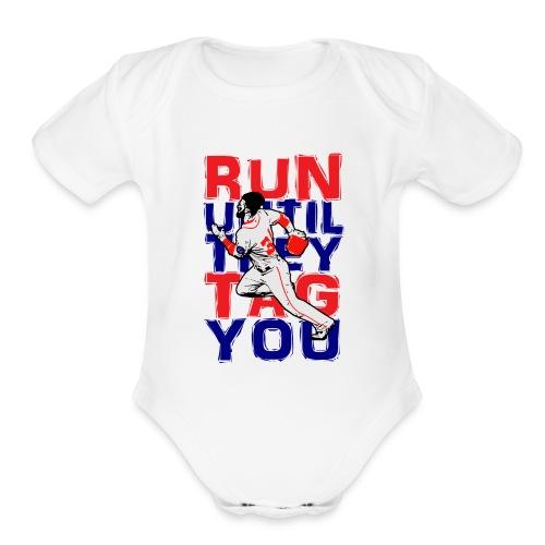 Baby Onesie White - Organic Short Sleeve Baby Bodysuit