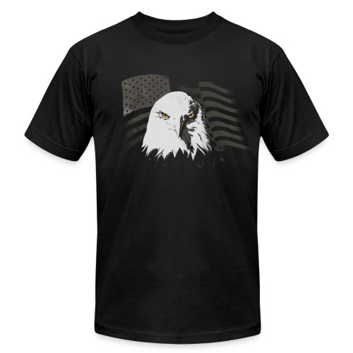 American Freedom Eagle - Men's  Jersey T-Shirt