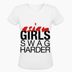 Asian Girls Swag Harder Women's T-Shirts