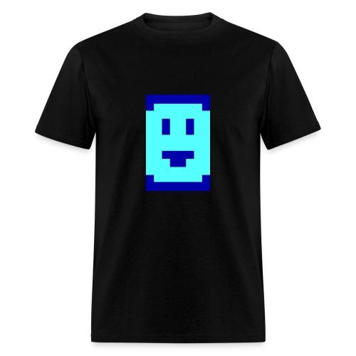 Megazeux Pixel Smiley - Men's T-Shirt