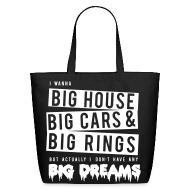 Bags & backpacks ~ Eco-Friendly Cotton Tote ~ BTS- Big Dreams