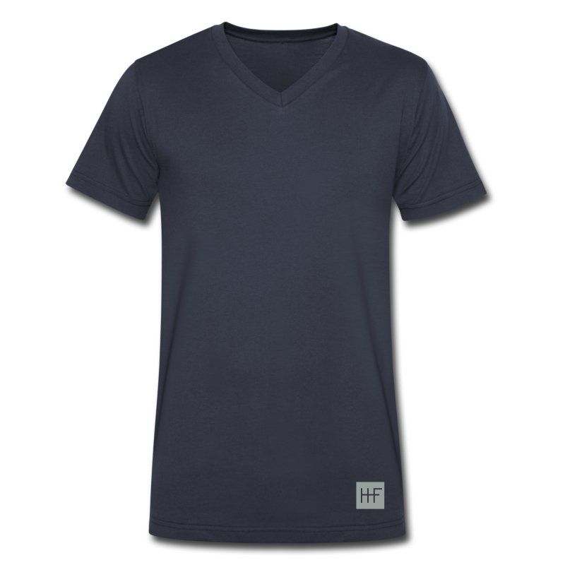 heroic_fashion__authentic_emblem__002__b - Men's V-Neck T-Shirt by Canvas