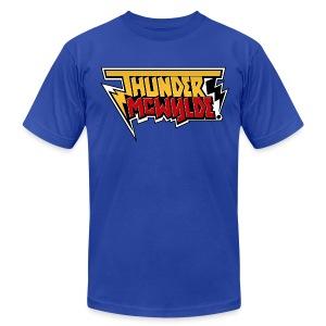 Thunder McWylde AA Mens T-Shirt - Men's Fine Jersey T-Shirt