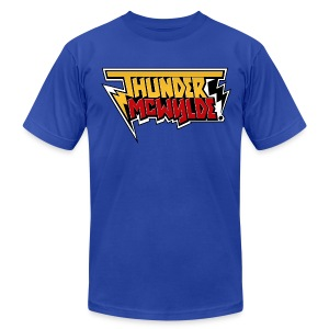 Thunder McWylde AA Mens T-Shirt - Men's T-Shirt by American Apparel
