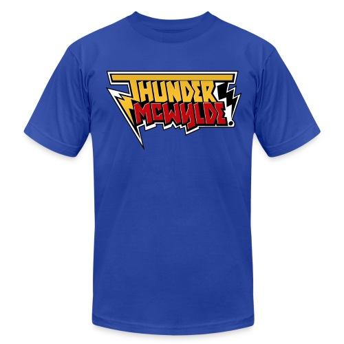 Thunder McWylde AA Mens T-Shirt - Men's Jersey T-Shirt