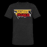 T-Shirts ~ Unisex Tri-Blend T-Shirt ~ Thunder McWylde Vintage Mens T-Shirt