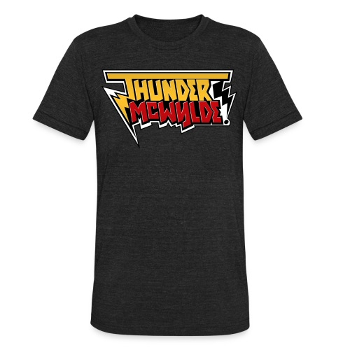 Thunder McWylde Vintage Mens T-Shirt - Unisex Tri-Blend T-Shirt by American Apparel