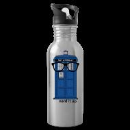 Sportswear ~ Water Bottle ~ Aluminum Water Bottle - Tardis