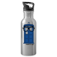 Sportswear ~ Water Bottle ~ Aluminum Water Bottle - Tardis