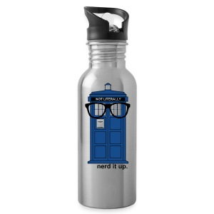 Aluminum Water Bottle - Tardis - Water Bottle
