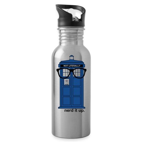 Aluminum Water Bottle - Tardis - Water Bottle