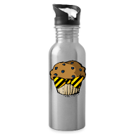 Sportswear ~ Water Bottle ~ Aluminum Water Bottle - HuflleMuffin