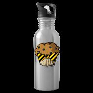 Mugs & Drinkware ~ Water Bottle ~ Aluminum Water Bottle - HuflleMuffin