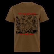 T-Shirts ~ Men's T-Shirt ~ Dead Party (Black) - Standard Weight Men's Shirt