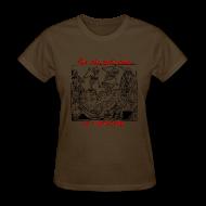 T-Shirts ~ Women's T-Shirt ~ Dead Party (Black) - Standard Weight Women's Shirt